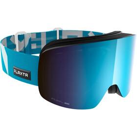 Flaxta Prime Goggles, flaxta blue-blue mirror